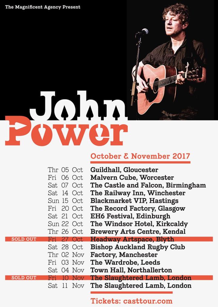 Cast @ John Power (acoustic) @ Slaughtered Lamb - London, United Kingdom