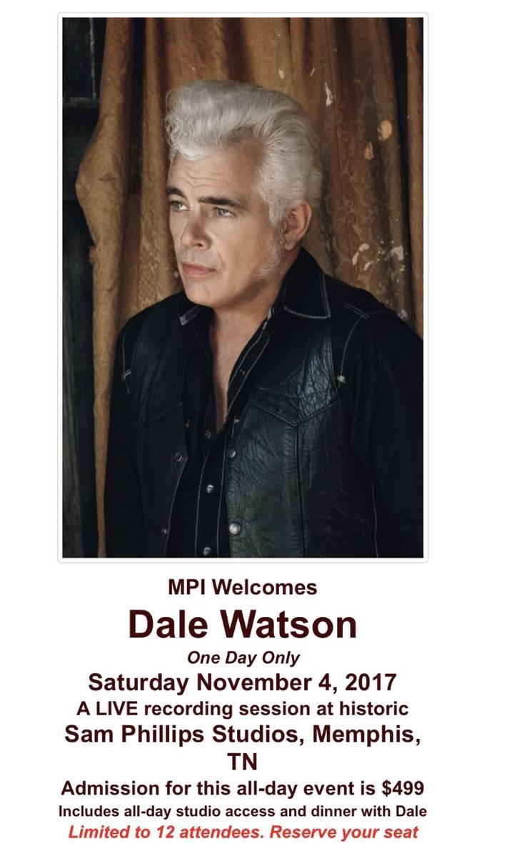 Dale Watson @ Sam Phillips Recording Studio - Memphis, TN