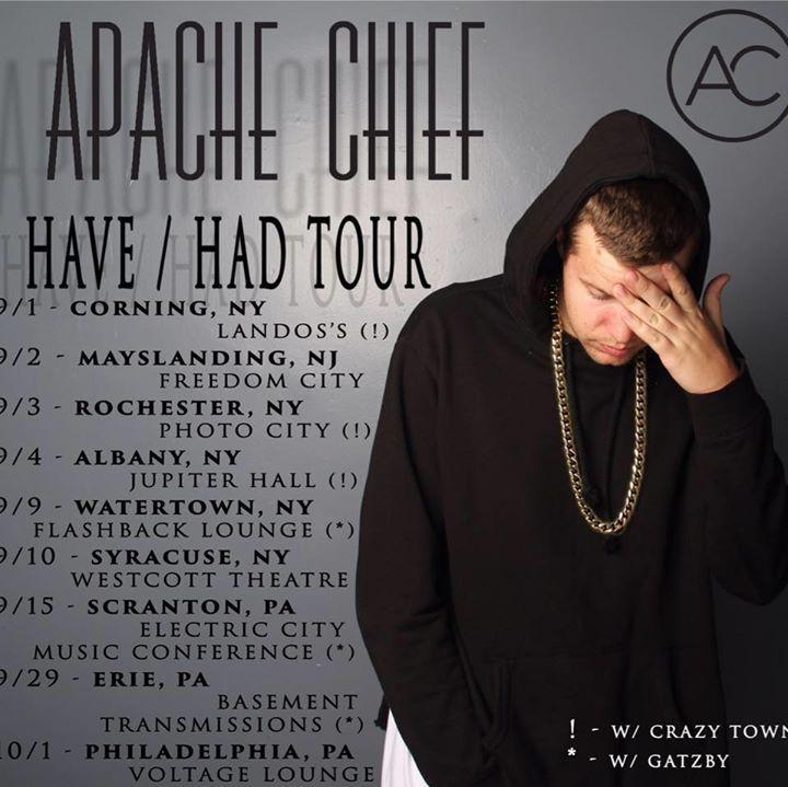 Apache Chief @ Basement Transmissions Theatre - Erie, PA