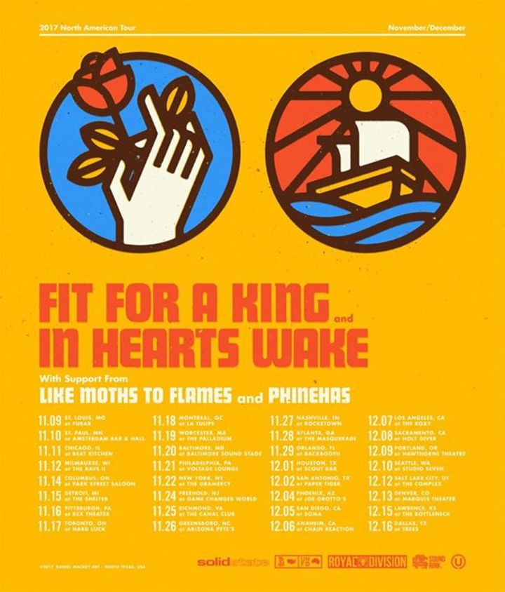 Fit For A King Tour Dates