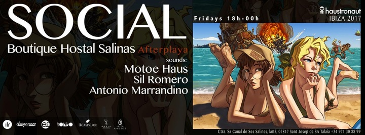 Antonio Marrandino @ Boutique Hostal Salinas - Ibiza, Spain