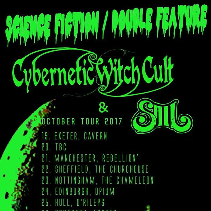 Cybernetic Witch Cult @ Rebellion - Manchester, United Kingdom