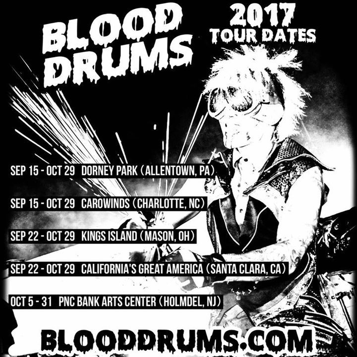 Blood Drums  @ California's Great America - Santa Clara, CA