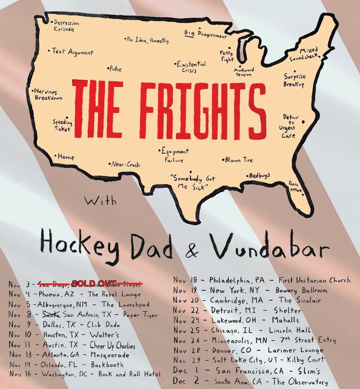 The Frights @ Larimer Lounge - Denver, CO