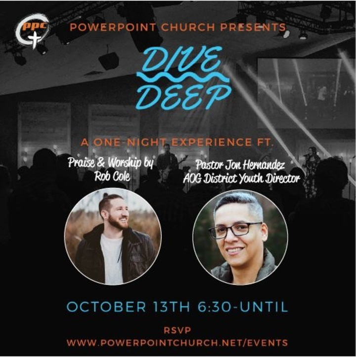 Rob Cole Music @ Dive Deep Collective (PowerPoint Church) - Lumberton, NC