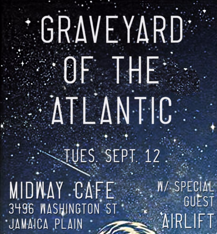 Graveyard of the Atlantic Tour Dates