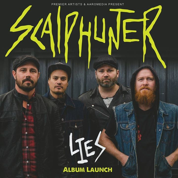 Scalphunter Tour Dates