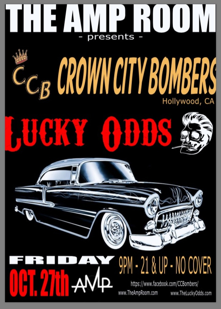 The Lucky Odds @ The Amp Room - San Antonio, TX