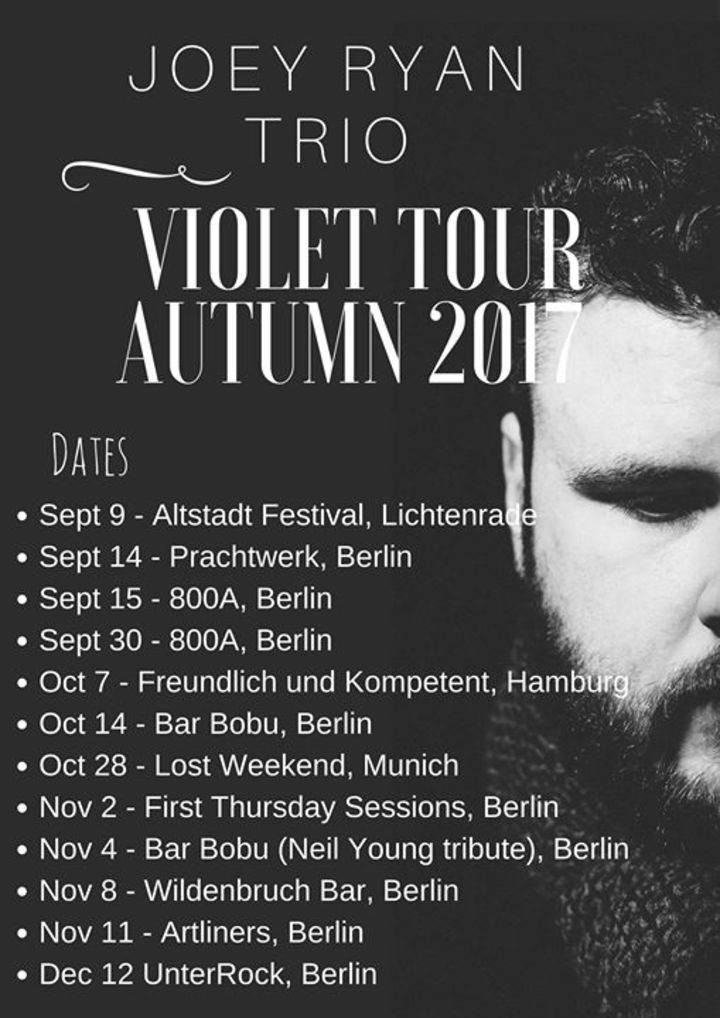 Joey Ryan Tour Dates