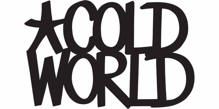 Cold World Tour Dates