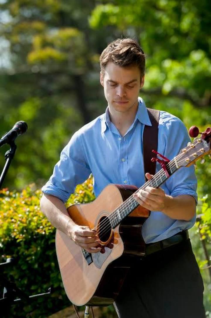 Jake Edgley @ Music By The River (Originals gig) - Sydney, Australia