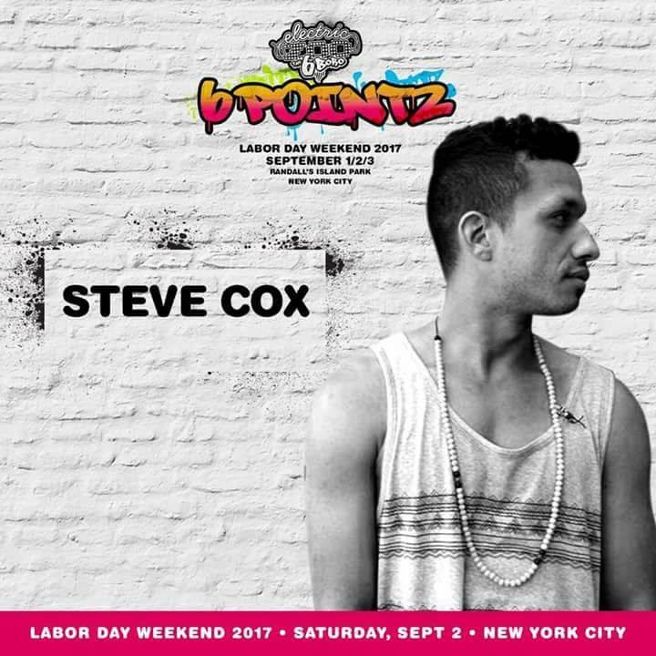 DJ Steve Cox Tour Dates