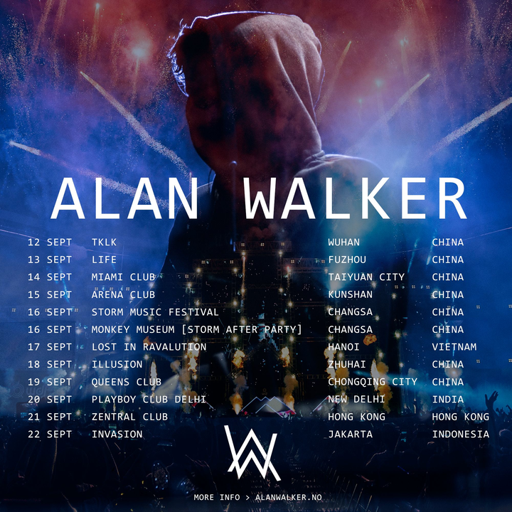 Alan Walker @ Storm Music Festival - Changsha, China