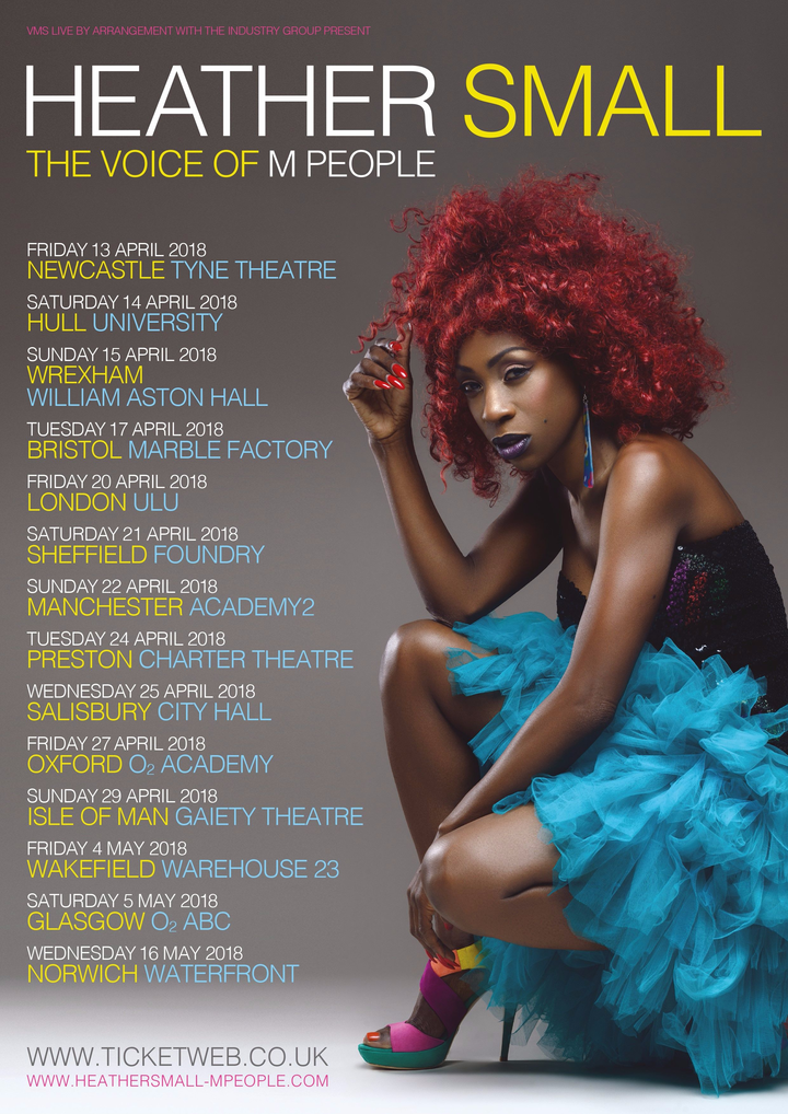 Heather Small - The Voice Of M People @ O2 ABC - Glasgow, United Kingdom
