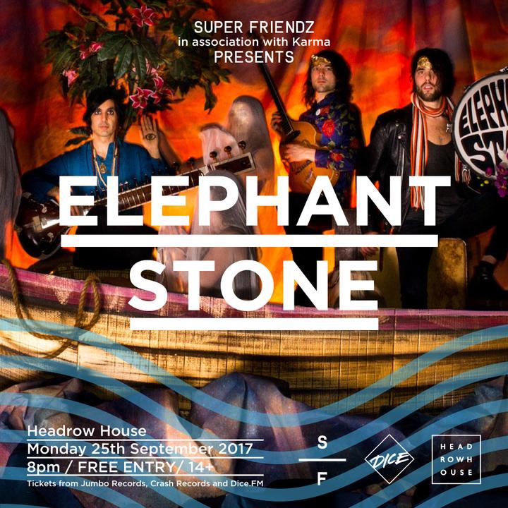 Elephant Stone @ HEADROW HOUSE - Leeds, United Kingdom