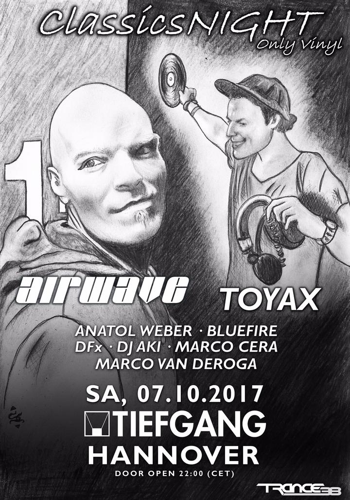 Airwave @ Tiefgang - Hanover, Germany