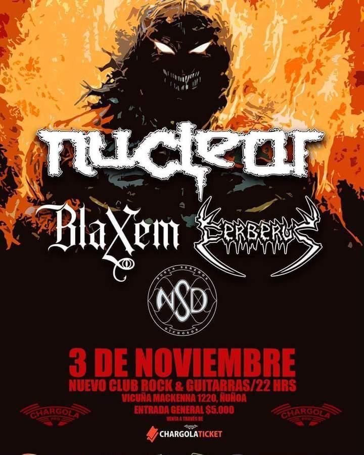 Nuclear @ Nuevo Rock y Guitarras - Santiago, Chile