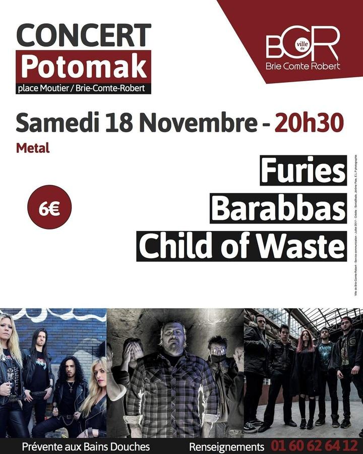 Child Of Waste @ Potomak - Brie-Comte-Robert, France