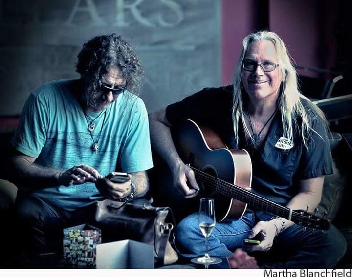 James Patrick Regan - singer/guitarist @ Mullin's Bar & Grill @ the Ritz Carlton  - Half Moon Bay, CA