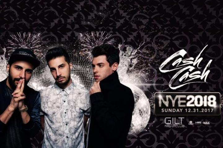 Cash Cash @ Gilt Nightclub - Orlando, FL