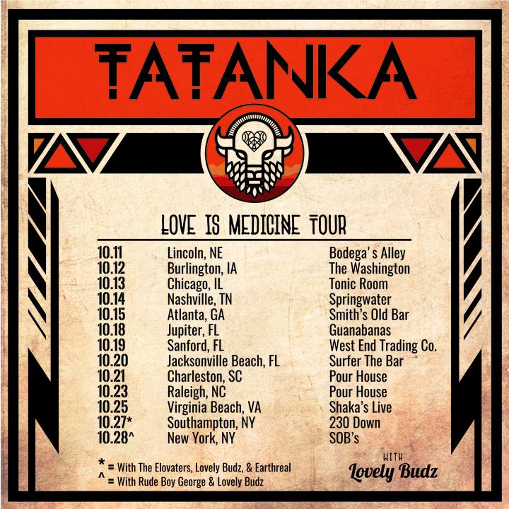 Tatanka @ Pour House - Charleston, SC