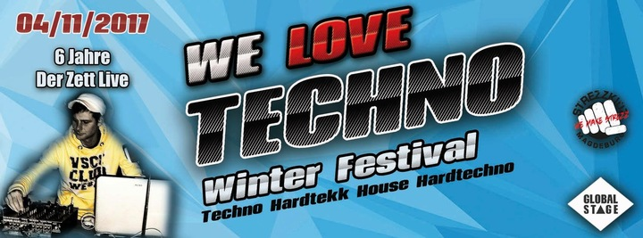 Kit da Funk aka BoomTown (OFFICAL) @ We Love Techno Winterfestival @ Alte Weberei - Nordhausen, Germany