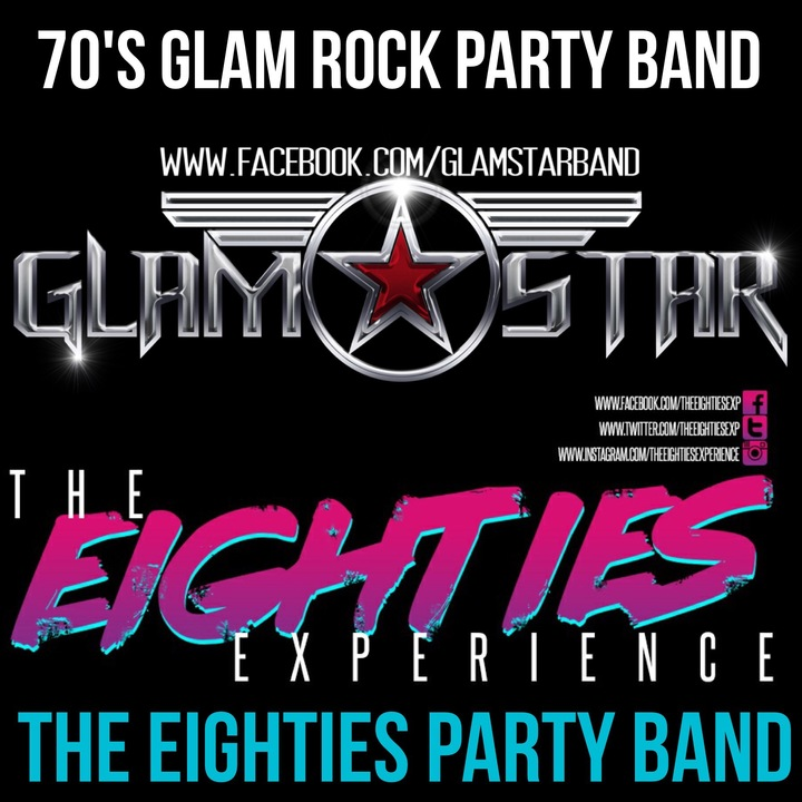 Theeightiesexperience @ Aston Villa FC (BAND Show with GlamStar) - Birmingham, United Kingdom