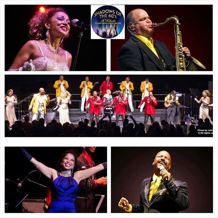 Shadows Of The 60's Tribute To Motown's Super Groups Tour Dates