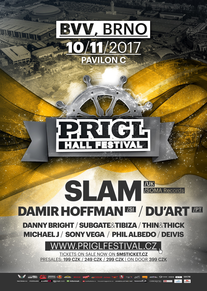 Danny Bright @ PRIGL HALL 2017 @ BVV - Brno, Czech Republic