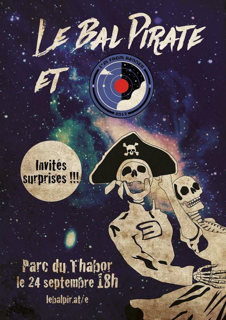 Le Bal Pirate @ Parc duThabor  - Rennes, France