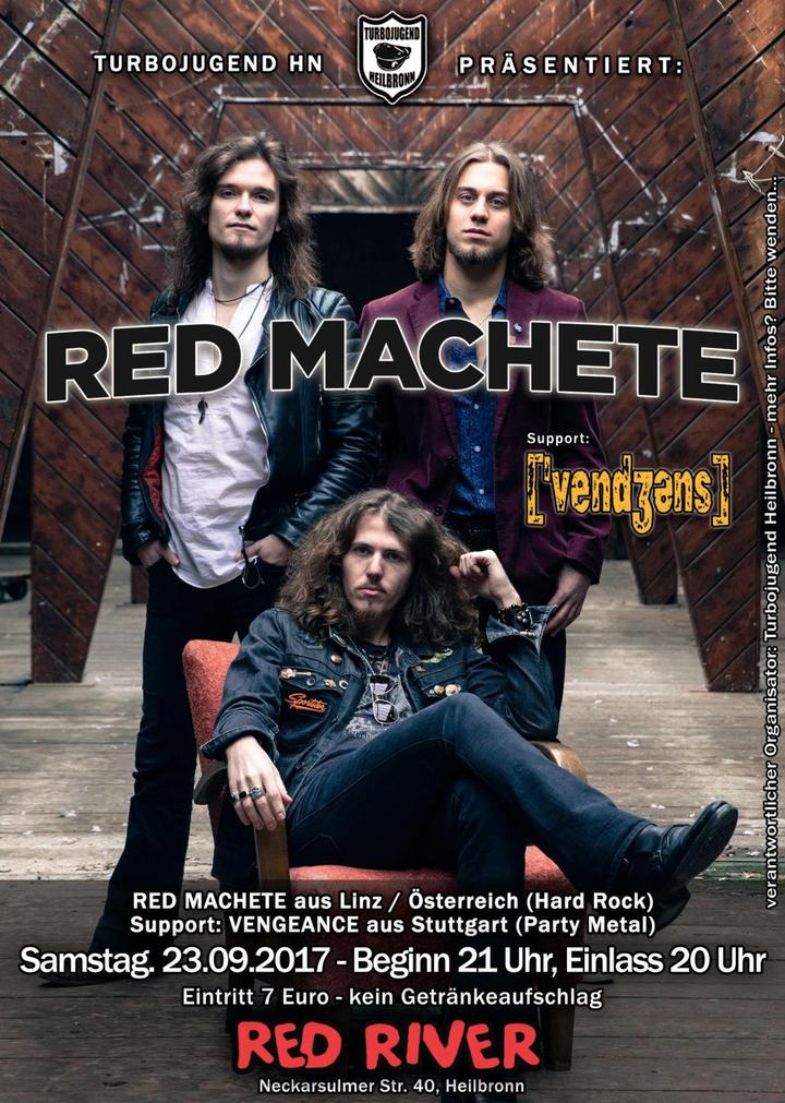 Red Machete @ Red River - Heilbronn, Germany