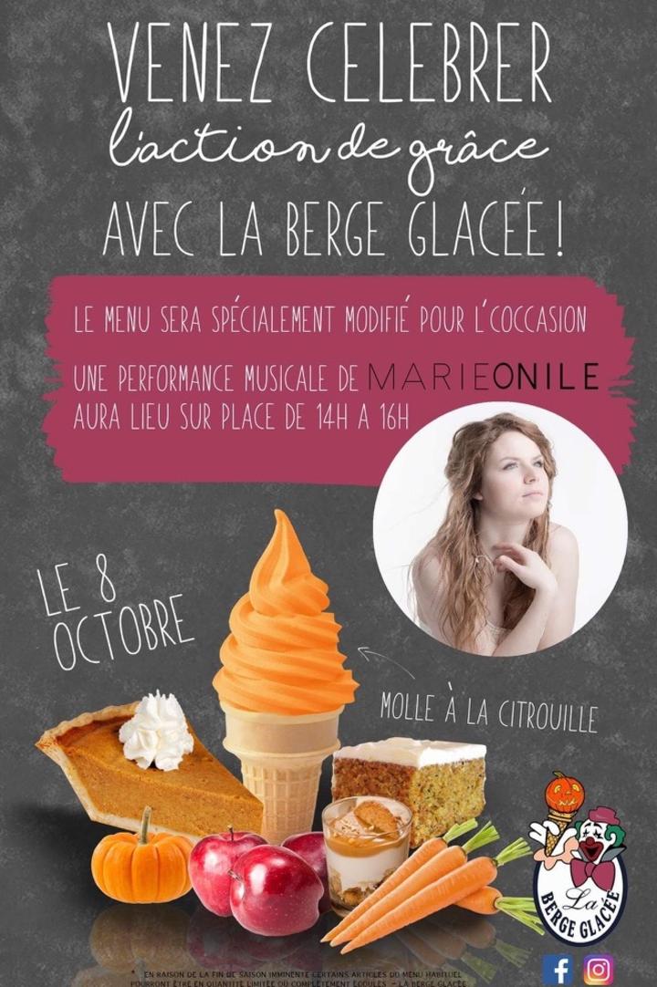 Marie Onile @ Le Berge Glacée - Lac-Mégantic, Canada