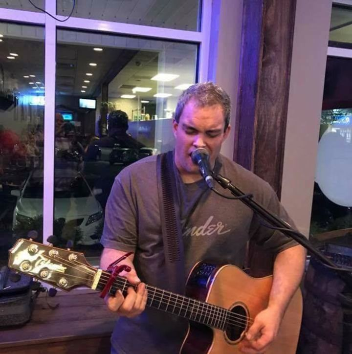 Travis Moss - Acoustic Musician @ Koi Pond Brewing - Rocky Mount, NC