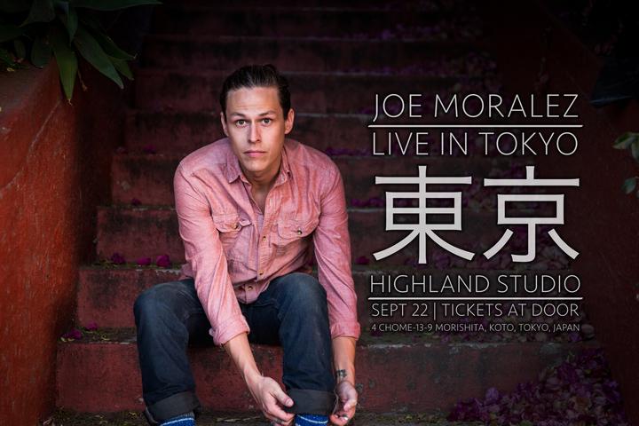 Joe Moralez @ HIGHLAND STUDIO - Tokyo, Japan