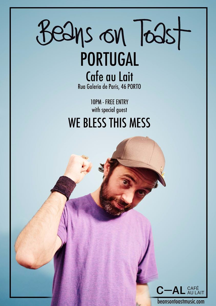 We Bless This Mess @ Cafe Au Lait - Porto, Portugal