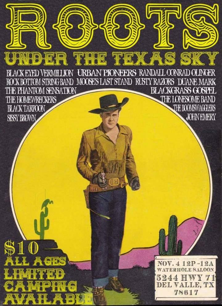 Rock Bottom String Band @ The Waterhole Saloon  - Del Valle, TX