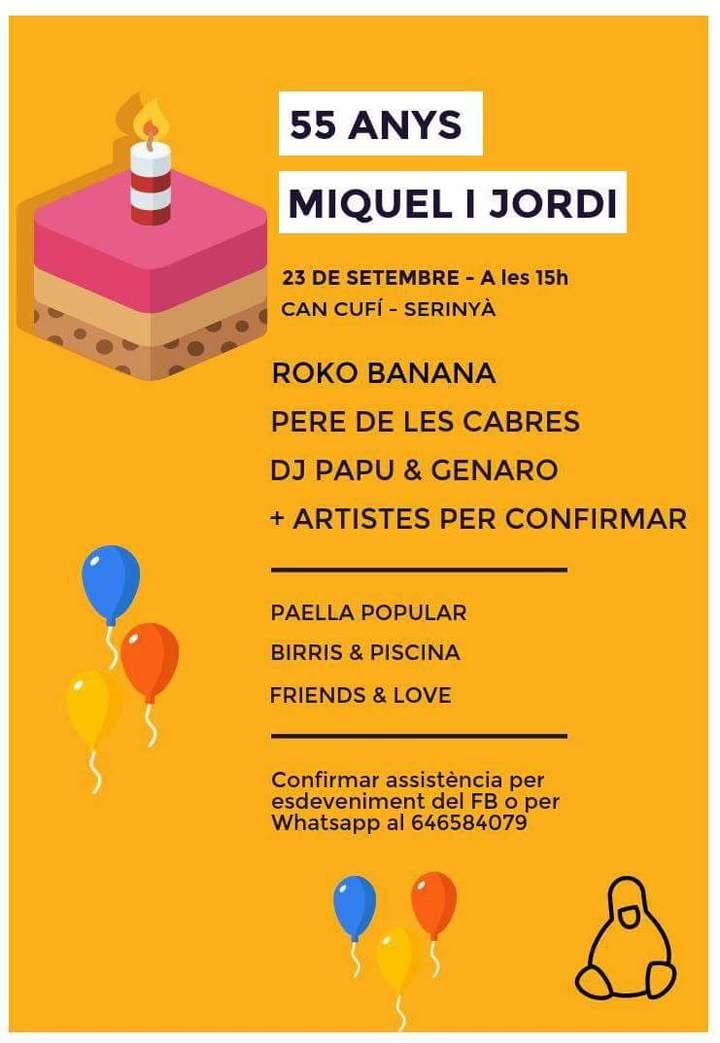 Roko Banana @ M&J: 55 Anys Junts - Serinyà, Spain