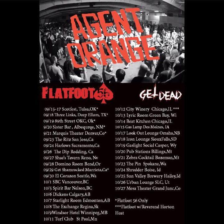 Rumjacks Concert Tour