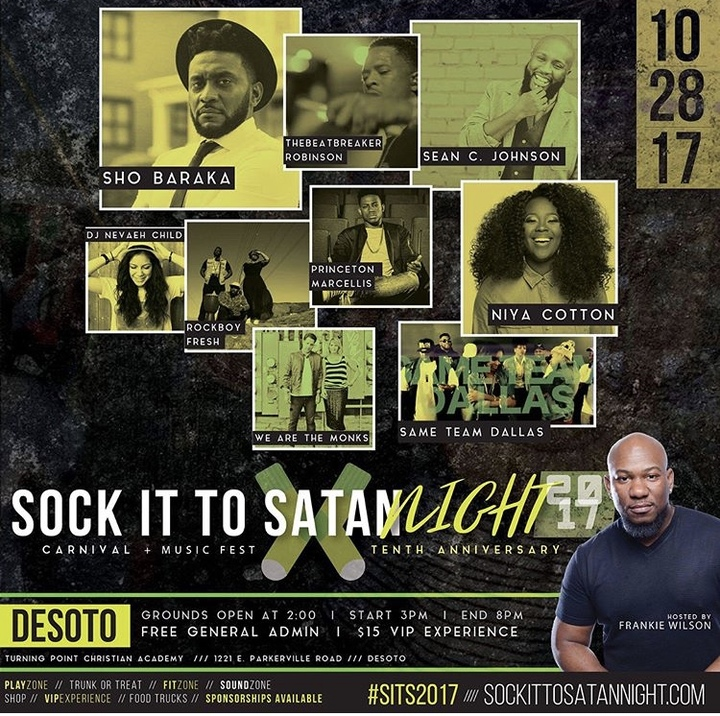 Princeton Marcellis @ Sock It To Satan Festival - Desoto, TX