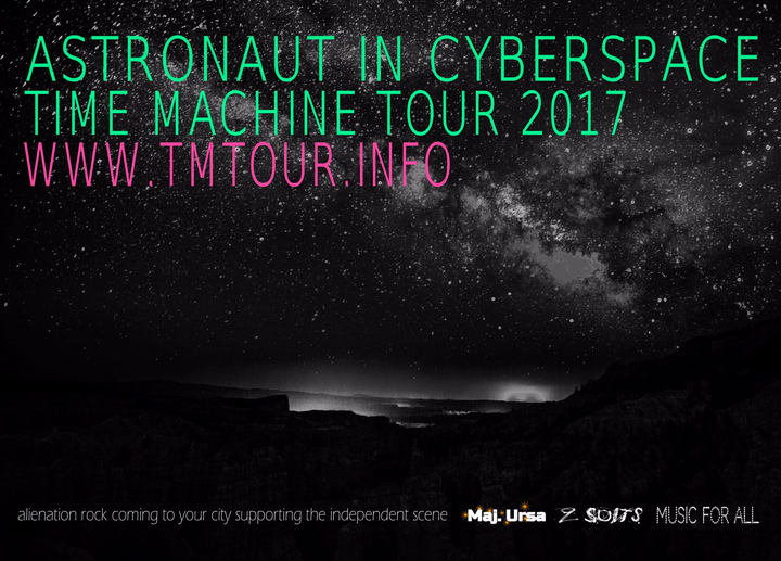 Astronaut In Cyberspace @ Time Machine Tour 2017 - Münster, Germany