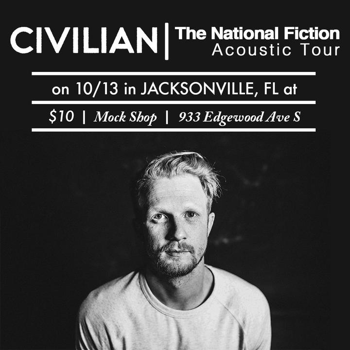 Civilian @ Mock Shop Music Exchange- National Fiction Acoustic Tour - Jacksonville, FL