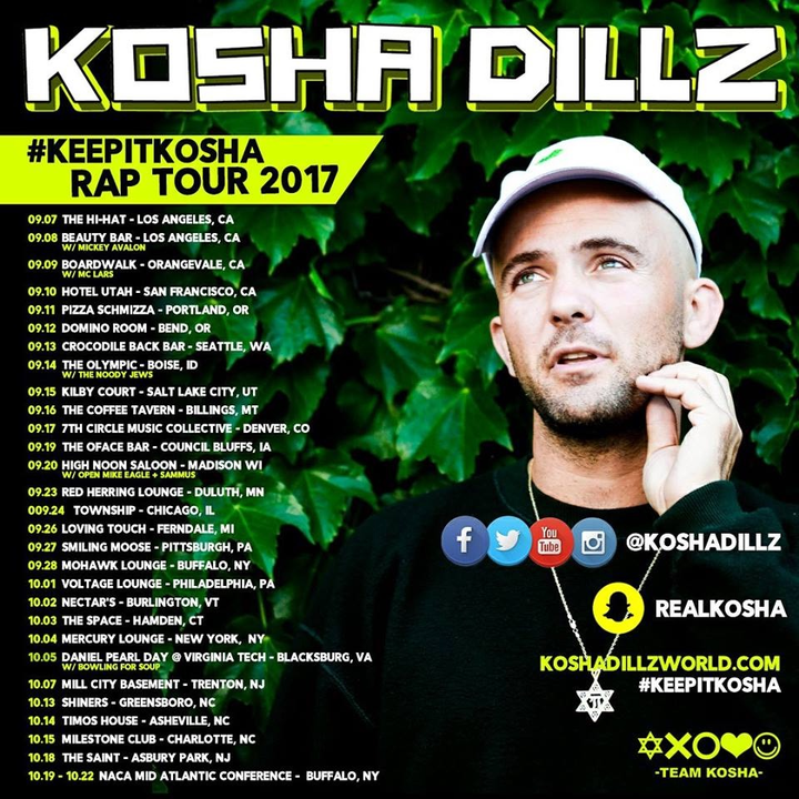 Kosha Dillz @ Mercury Lounge - New York, NY