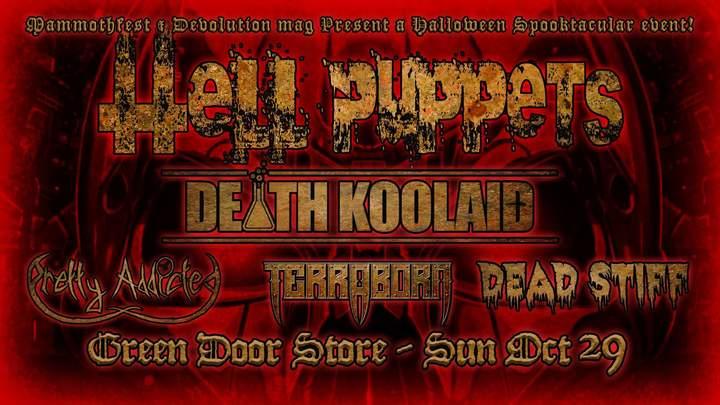 Death Koolaid @ Green Door Store - Brighton, United Kingdom
