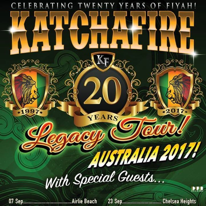 Katchafire @ 170 RUSSELL, MELBOURNE - Melbourne, Australia