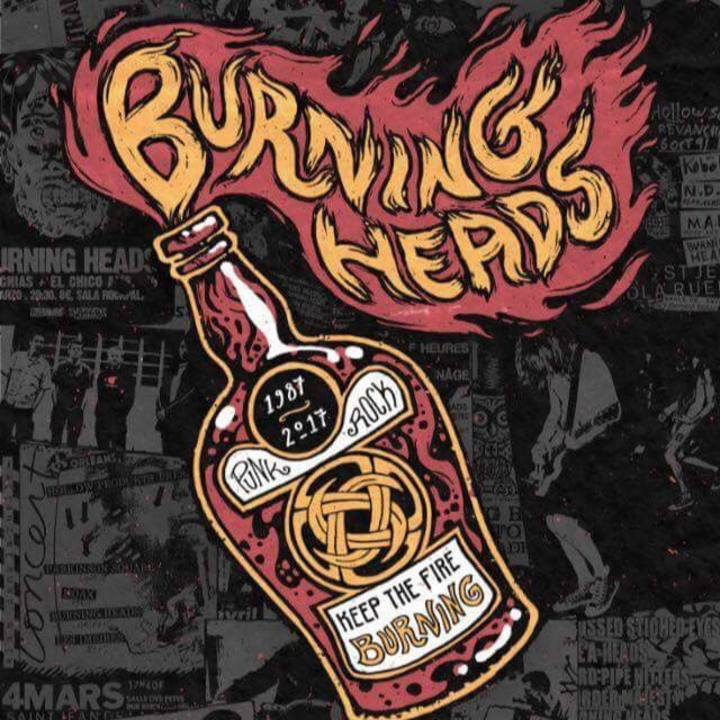 Burning Heads @ Le Ferrailleur - Nantes, France