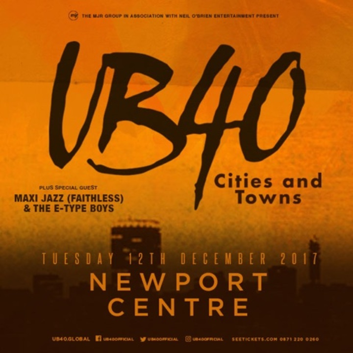 UB40 @ The Neon - Newport, United Kingdom