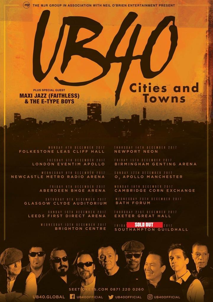 UB40 @ Forum - Bath, United Kingdom