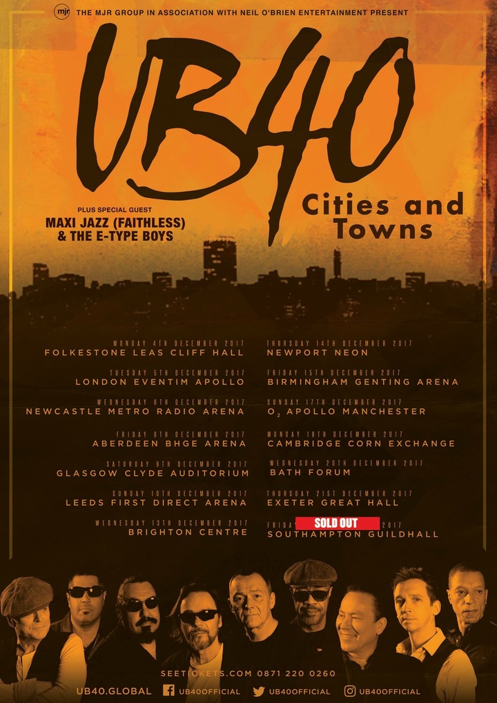 UB40 @ Great Hall  - Exeter, United Kingdom