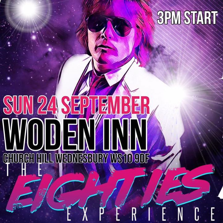 Theeightiesexperience @ Chariots Bar (with GlamStar) - Atherstone, United Kingdom
