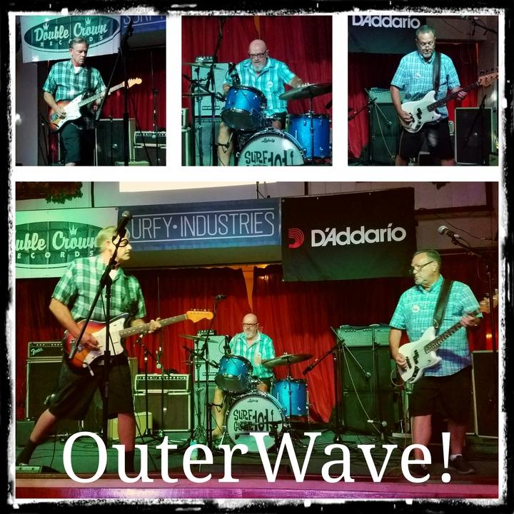 Outerwave Surf Band @ Huntington Beach Pier Plaza  - Huntington Beach, CA